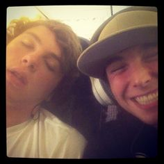 Awe, poor Keaton trying to sleep. What are big brothers for anyways?