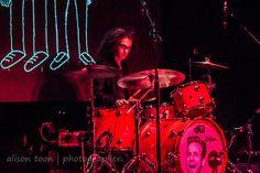 Bob Hall, drums, Catfish and the Bottlemen, Sacramento, October 2014