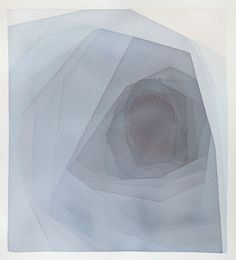 "Saatchi Online Artist Alex Diamond; Painting, ""red and blue spiral"" #art"