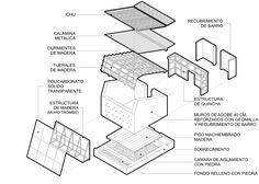 Galería de Primer lugar concurso internacional 'Refugios contra el friaje en zonas Alto Andinas' / Roberto Luna, Raúl Fernández y Alejandro Zamudio - 14