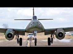 "The Messerschmitt Me nicknamed Schwalbe (German: ""Swallow"") in fighter versions, or Sturmvogel (German: ""Storm Bird"") in fighter-bomber versions, was th. Aircraft Photos, Ww2 Aircraft, Fighter Aircraft, Military Aircraft, Fighter Jets, Messerschmitt Me 262, Me262, Korean Air, Ww2 Planes"