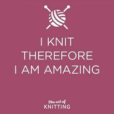 Art of knitting #sotrue