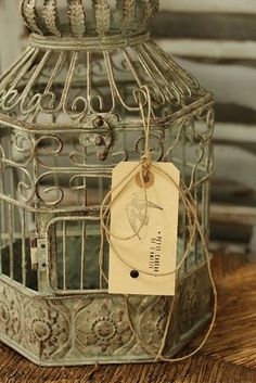 love, love, love old birdcages!