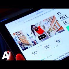 Gusto Moda on television! #AT5 #regional #Amsterdam #television #customized #fashion