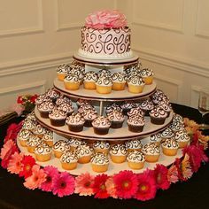 cupcakes and cake- gotta have something to cut