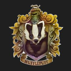 Recreated the hufflepuff house crest from the harry potter franchise others Magia Harry Potter, Harry Potter Love, Harry Potter Fan Art, Harry Potter World, Harry Potter Hogwarts, Harry Potter Memes, Archie Comics, Hermione Granger, Vif D'or
