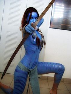 Avatar! I love this movie! This is talent