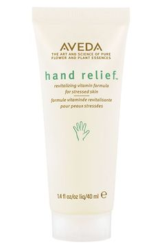 Aveda 'hand relief™' Hand Cream  http://rstyle.me/n/dyifnpdpe
