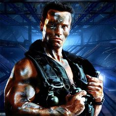 The Terminator, played by Arnold Schwarzenegger in The Terminator.