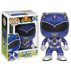 Mighty Morphin' Power Rangers Blue Ranger Pop! Vinyl Figure - Funko - Power Rangers - Pop! Vinyl Figures at Entertainment Earth