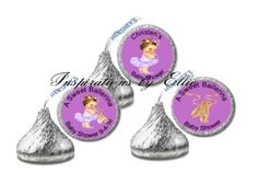 108 Tinkerbell Birthday Party Baby Shower Hershey Kisses Stickers Fairy Princess