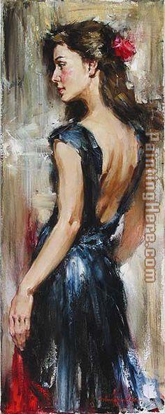 ➗Andrew Atroshenko Loving Memory Painting
