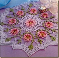 CROCHET PATTERNS FOR DOILIES - 5