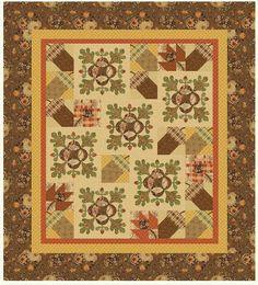 Sienna by Lisa DeBee Schiller for Windham Fabrics (includes oak leaf applique templates)