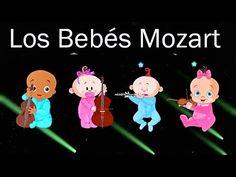11 Los Bebés Mozart en el Mundo - Efecto Mozart para bebés - Calma el llanto - Canciones de Cuna # - YouTube Relaxing Music, Online Gratis, Youtube, Make It Yourself, Salvador, Baby, Yoga, 4 H, World
