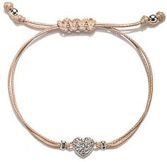 jcpenney Delicates by PALOMA & ELLIE Heart Friendship Bracelet on shopstyle.com