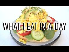 WHAT I EAT IN A DAY #27   VEGAN - YouTube