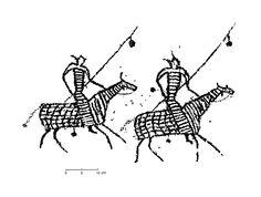 Наскальное искусство Зостын Хада Монголии (по Чжан Со Хо)