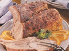 Yum... I'd Pinch That! | Roast Pork Loin With Orange Juice And White Wine
