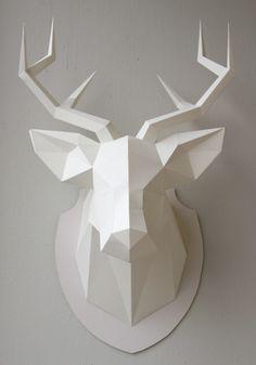 My dear deer paper deer sculpture 0_004