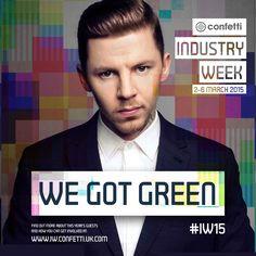 Professor Green at Confetti Industry Week 2015