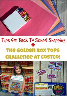 Check out these tips for back to school shopping plus, learn about the Golden…