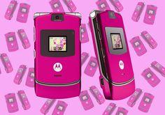 OMG! Motorola prepara a volta do V3, celular-ostentação dos anos 2000