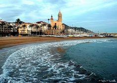 Sitges frente al mar