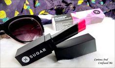 Sugar It's A-pout Time! Vivid Lipstick – Coraline In The City http://www.curiousandconfusedme.com/2016/03/sugar-vivid-lipstick-review/ #bbloggers #beautyblogger #indianblogger #indianbeautyblogger #sugar #newlaunch #lipstick #lipstickaddict