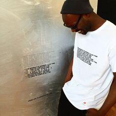 Timeless t-shirt out Stefan Bruggemann x Supreme x Hanes #StefanBrüggemann #StefanBruggemann #supreme #supremenewyork #timeless #timepainting #parraromeroibiza2015 @parraromero #accerelate