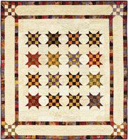 checkerboard stars quilt | cheryl rose creations - shopping