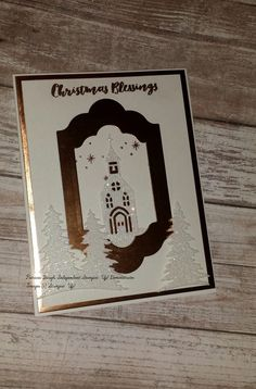 Stampin' Up! Christmas Cards 2017, Stamped Christmas Cards, Homemade Christmas Cards, Xmas Cards, Holiday Cards, Christmas 2019, Stampin Up Anleitung, Christmas Drawing, Stamping Up Cards