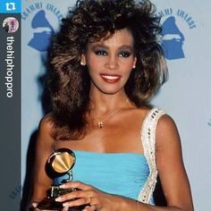 """""""Whitney Houston was born August 9, 1963 in Newark, New Jersey. Even as a child Whitney was able to wow audiences. Her mother Cissy Houston, cousin Dionne…"""""""