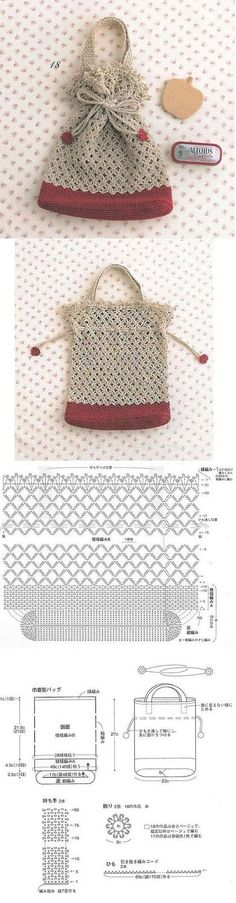 Crochet Purses Ideas sweet crochet pouch I really like the crochet pattern for the center part of the purse. Crochet Diy, Crochet Pouch, Crochet Gifts, Crochet Bags, Crochet Diagram, Crochet Chart, Crochet Stitches, Crochet Handbags, Crochet Purses