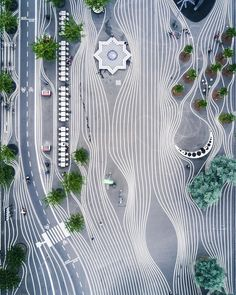 Cheap Landscaping Near Me Landscape And Urbanism, Landscape Architecture Design, Urban Landscape, Landscape Plaza, Masterplan, Plaza Design, Paving Pattern, Instalation Art, Parking Design