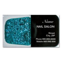 Nail Salon Customer Loyalty Punch Business Card. This great business card design is available for customization. All text style, colors, sizes can be modified to fit your needs. Just click the image to learn more!