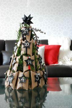 DIY advent calendar // Calendario de adviento // Casa Haus