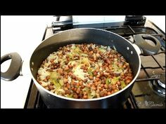 Jamaican Gungo Peas And Rice & Peas Recipe   Recipes By Chef Ricardo - YouTube Pea Recipes, Vegetarian Recipes, Yellow Rice Recipes, Rice And Peas, Jamaican Recipes, Salad Bar, Fried Rice, Dishes, Cooking