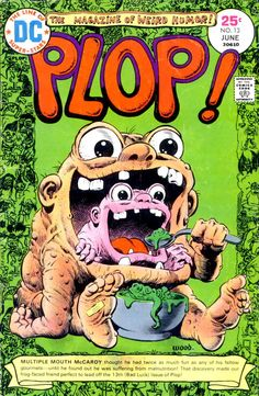 Plop #13 - Wally Wood cover