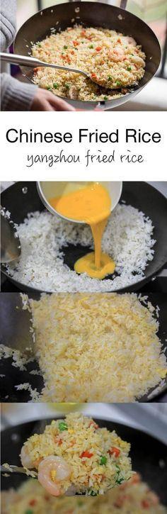 Chinese fried rice #yangzhou Fried rice