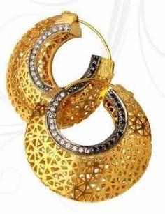 Chaahat Stylish n Carved Hoops #earrings #hoopearrings #earringsforwomen