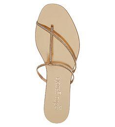 PEDRO GARCIA Estee embellished satin and leather flat sandals