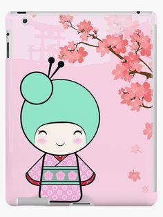 Kokeshi doll - Sakura by dollmadeinjapan
