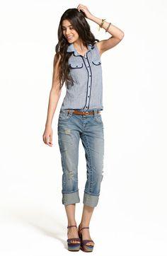 Standards & Practices Jeans & Chloe K Shirt