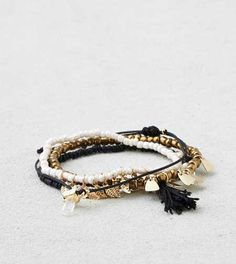 AEO Gold & Black Arm Party - Buy One Get One 50% Off $15.95