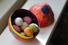 How To Make Papier Mache Easter Eggs