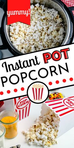 Making popcorn in the Instant Pot is beyond easy! And the good news is that it comes out crispy and not soft like it does when you make it in the microwave. For more quick and easy snack ideas follow Easy Budget Recipes!