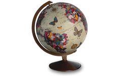 """Flutter By"" globe, by ImagineNations"