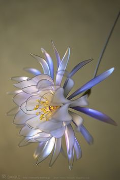 Wonderful Kanzashi by Sakae    http://pinterest.com/kanzashisakae/