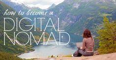 Become a digital nomad. #Digital #Nomad